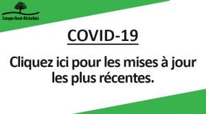 Facebook - covid-19 - Mises à jour