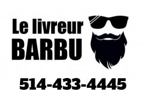 Le livreur barbu
