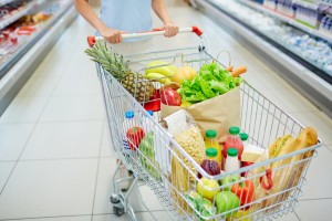 Food in cart