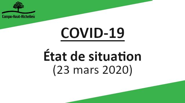 Facebook - covid-19 - Etat de situation - 2020-03-23